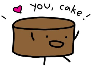 I turned down dinner to eat more cake.