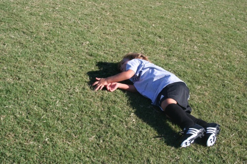 Cole on the ground